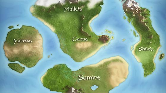 Preview of a map of Nova Terra.