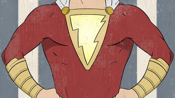 Preview of fanart made for the film Shazam.