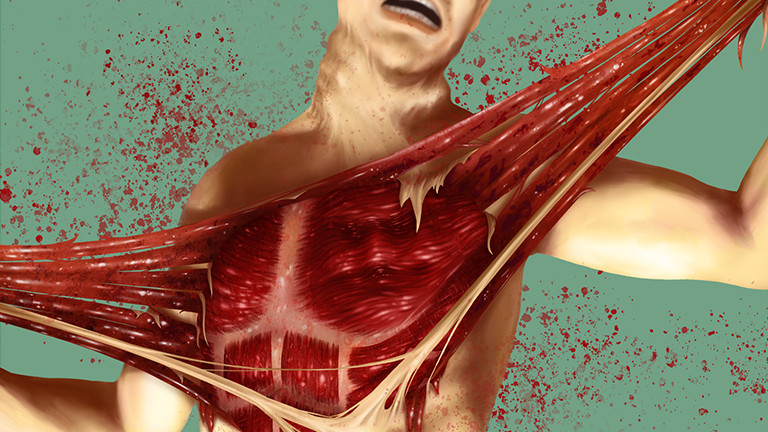 Preview of the Under Your Skin Illustration (not safe for work)