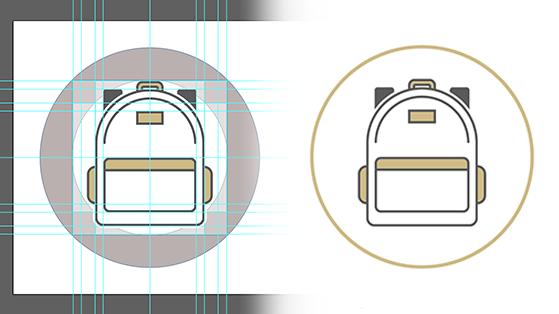 Preview of icons made for CU Denver